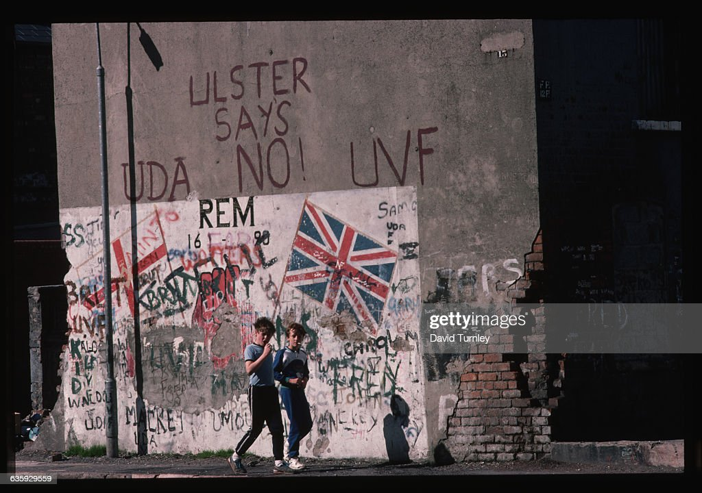 Graffiti Covered Political Mural Pictures Getty Images
