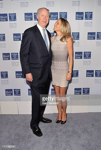 Political pundit David Gergen and Dr Eva AnderssonDubin attend the opening of Dubin Breast Center at the Tisch Cancer Institute at Mount Sinai...