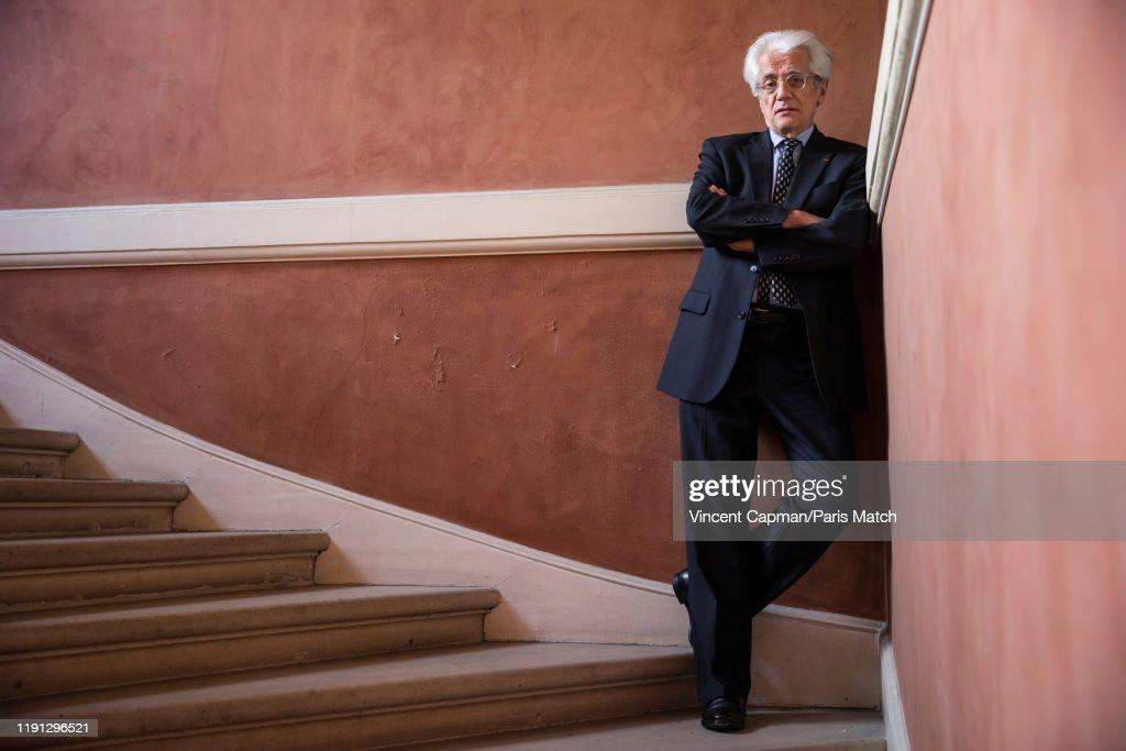 Pascal Perrineau, Paris Match Issue 3686, January 1, 2019 : News Photo