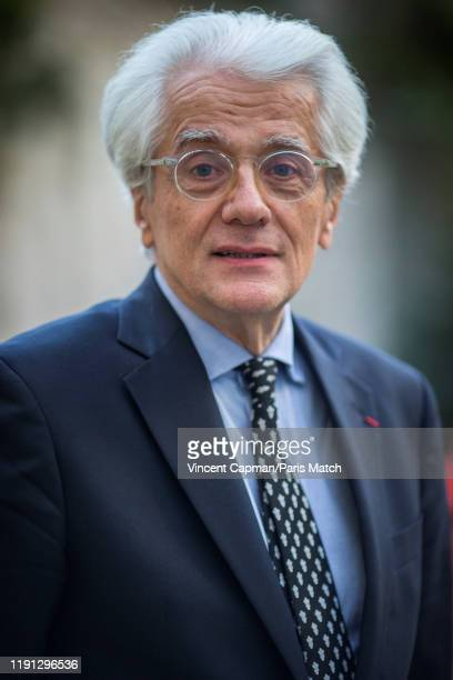 Political scientist Pascal Perrineau is photographed for Paris Match on December 13 2019 in Paris France