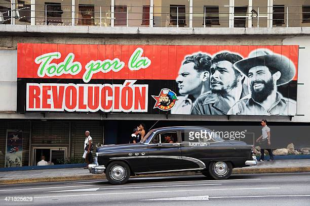 political sign in habana - 1950 1959 stock pictures, royalty-free photos & images