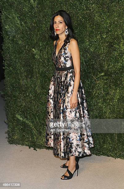 Political staffer Huma Abedin attends the 12th annual CFDA/Vogue Fashion Fund Awards at Spring Studios on November 2 2015 in New York City