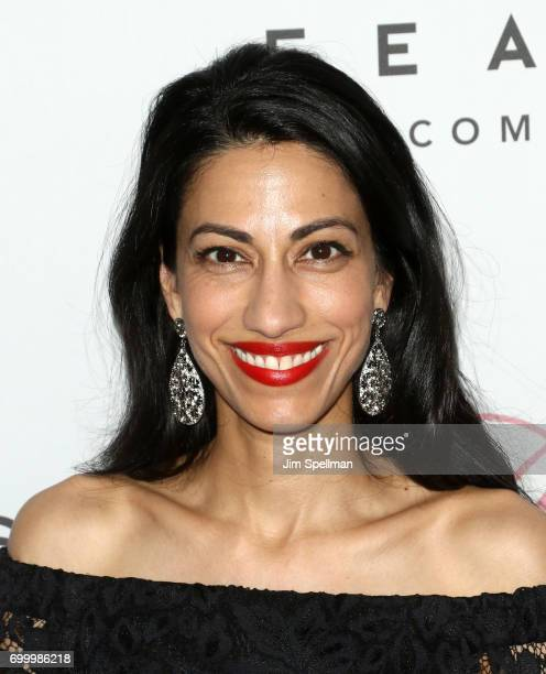 Political staffer Huma Abedin attends The Beguiled New York premiere at The Metrograph on June 22 2017 in New York City