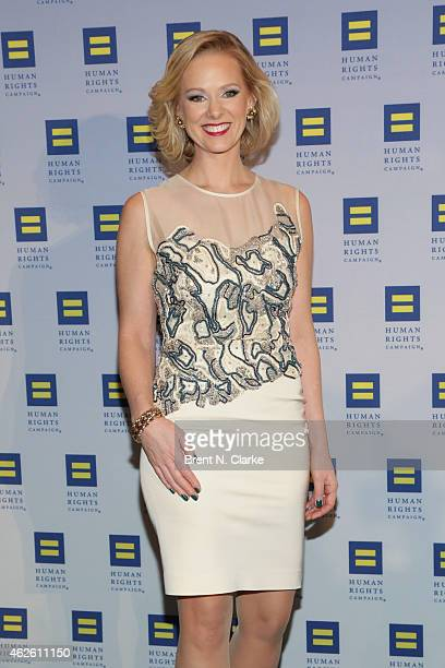 Political strategist and author Margaret Hoover arrives for the 2015 Human Rights Campaign Greater New York Gala Dinner at The Waldorf=Astoria on...
