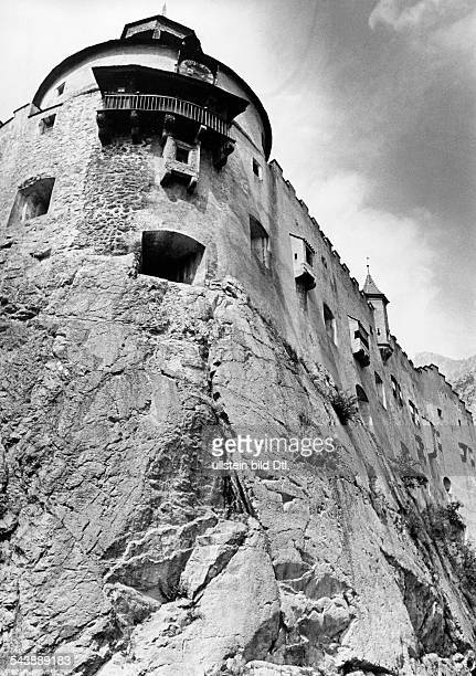 Political training facility of the NSDAP Hohenwerfen castle Photographer Hanns Tschira Published by 'Berliner Illustrirte Zeitung' 04/1944Vintage...
