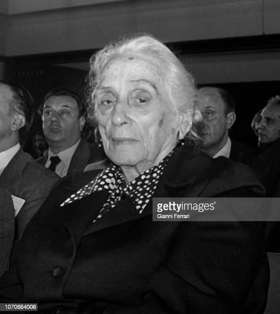 Political woman Dolores Ibarruri La Pasionaria Madrid Spain