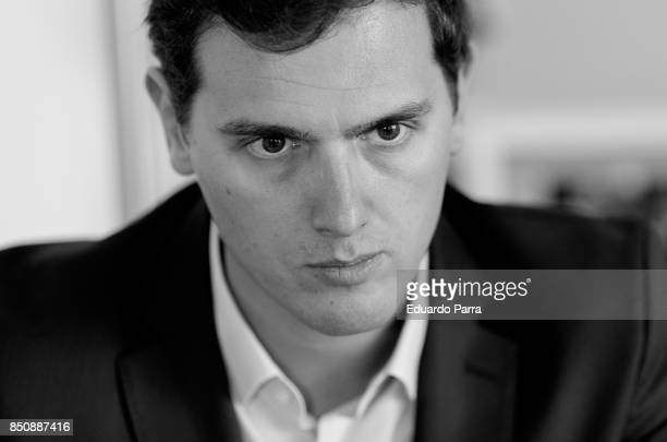 Politician Albert Rivera from Ciudadanos Party is seen posing for a portrait session on July 28 2017 in Madrid Spain