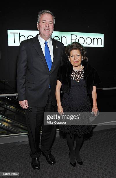 Politician and former Florida Governor Jeb Bush and wife Columba Bush attend the 2012 Lincoln Center Institute Gala at Frederick P Rose Hall Jazz at...