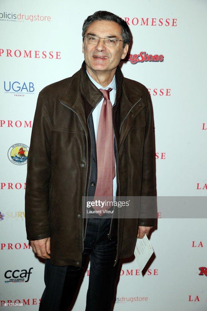 """""""The Promise - La Promesse"""" Paris Premiere At Cinema Publicis"""