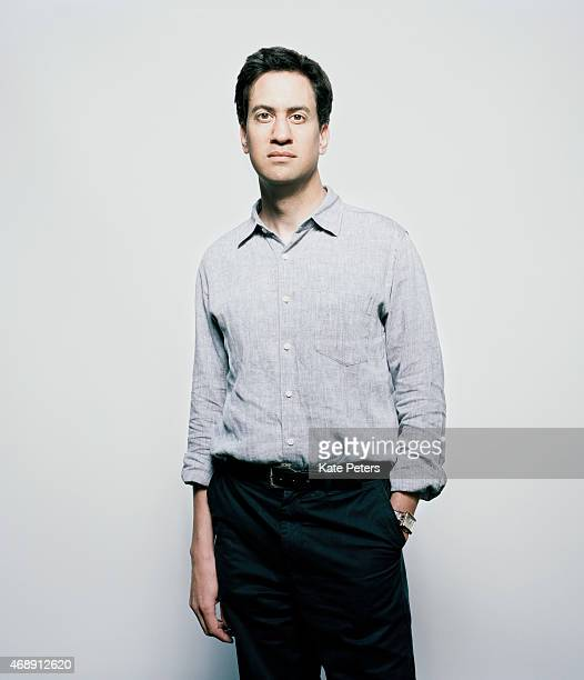 Politician and leader of the UK's Labour Party Ed Miliband is photographed for the New Statesman on September 3 2012 in London England