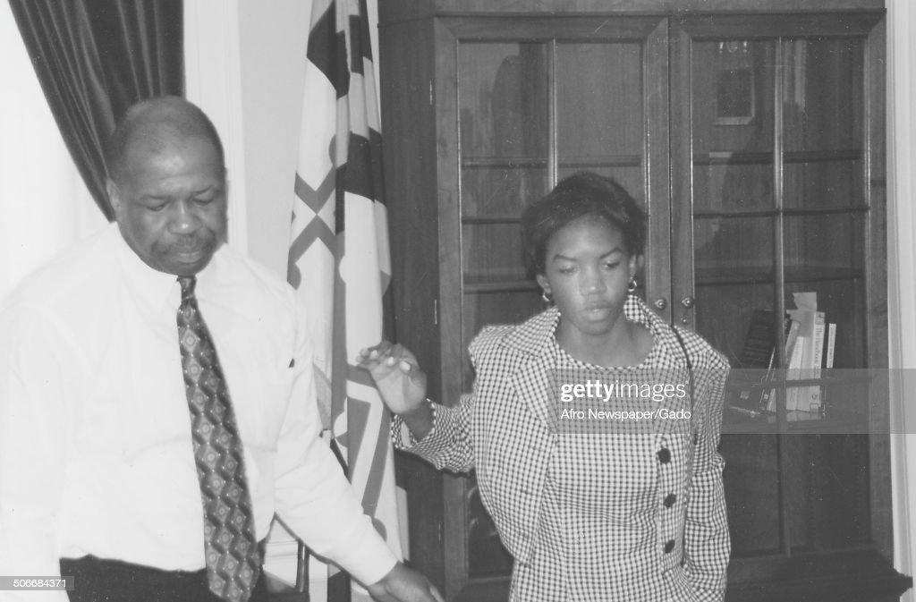 Elijah Cummings And Jennifer : News Photo