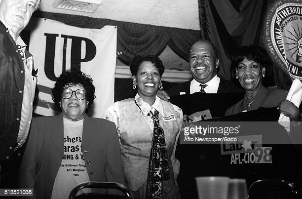 Politician and Maryland congressional representative Elijah Cummings 1988
