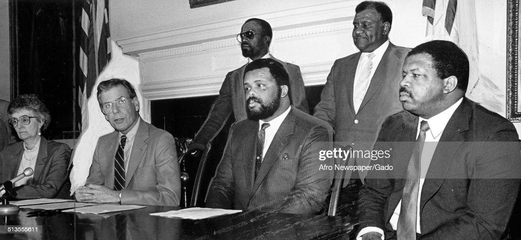 Elijah Cummings And Politicians : News Photo