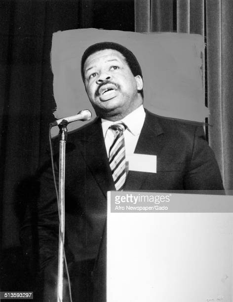Politician and Maryland congressional representative Elijah Cummings September 5 1992
