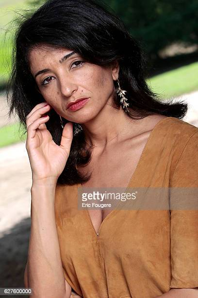 Politician and Writer Jeannette Bougrab Photographed in PARIS