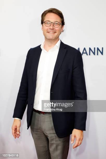 Politician Andreas Scheuer attends the Bertelsmann Summer Party at Bertelsmann Repraesentanz on September 6 2018 in Berlin Germany