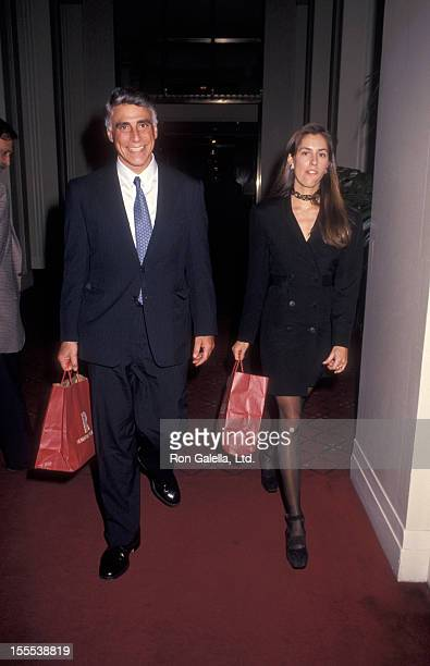 Politician Andrew Stein and wife Lynn Forester attend Firth Annual Rainforest Foundation Benefit on April 9 1994 at Carnegie Hall in New York City