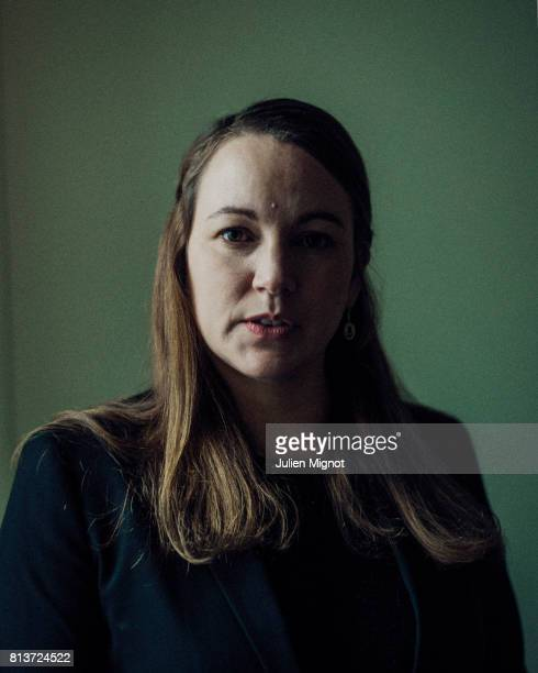 Politician Axelle Lemaire is photographed for Liberation on February 27 2017 in Paris France