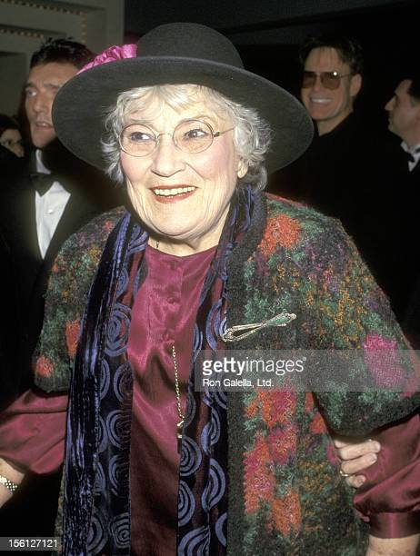 Politician Bella Abzug attends Liza Minnelli Opens in the Broadway Musical 'Victor/Victoria' on January 7 1997 at the Marquis Theatre in New York...