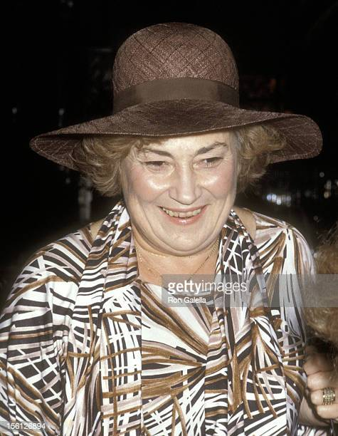 Politician Bella Abzug attends the Party to Celebrate Andy Warhol's Rolling Stone Magazine Cover Photograph Designed of Bella Abzug on October 6 1977...