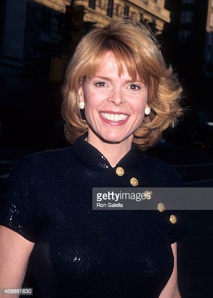Politician Betsy McCaughey attends the New York Times' 100th Anniversary Celebration on June 26 1996 at the Metropolitan Museum of Art in New York...