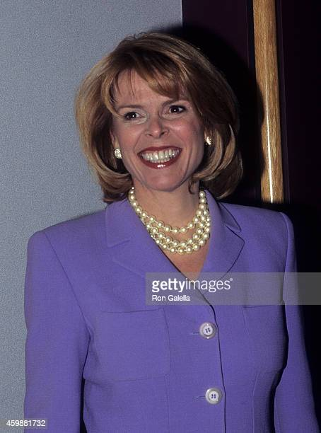Politician Betsy McCaughey attends the Women's Campaign Fund's Parties of Your Choice Gala on October 15 1996 at the Pfizer Building in New York City