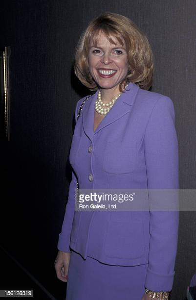 Politician Betsy McCaughey Ross attends 10th Annual Women's Power Lunch Benefiting City Meals on Wheels on November 14 1996 at Rainbow Room in New...