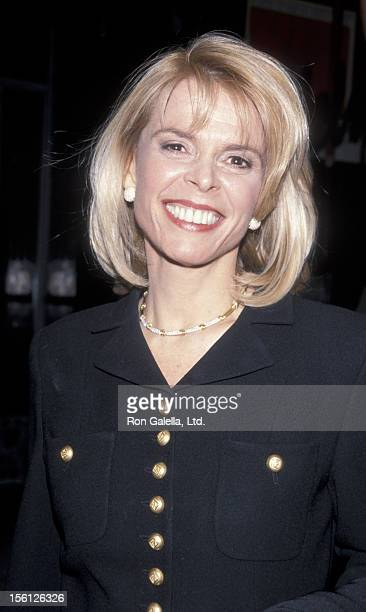 Politician Betsy McCaughey Ross attends the party for 'Law and Order' on March 15 1999 at Elaine's Restaurant in New York City
