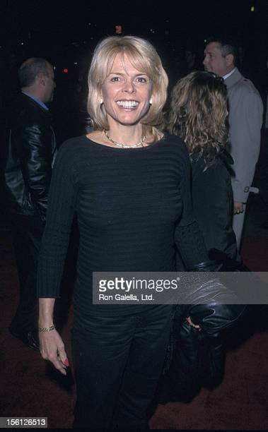 Politician Betsy McCaughey Ross attends the premiere of 'The Business of Strangers' on November 29 2001 at Clearview Chelsea West Theater in New York...