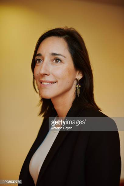 Politician Brune Poirson poses for a portrait on January 16 2020 in Paris France