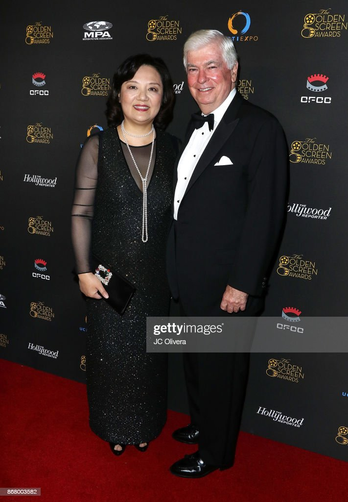 Politician Chris Dodd And Ucfti Ceo Bianca Chen Attend The