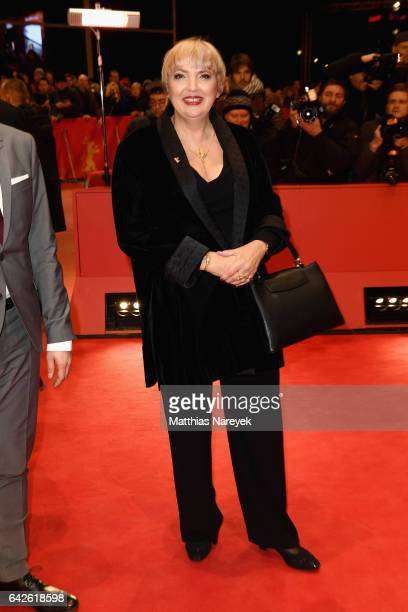 politician Claudia Roth arrives for the closing ceremony of the 67th Berlinale International Film Festival Berlin at Berlinale Palace on February 18...