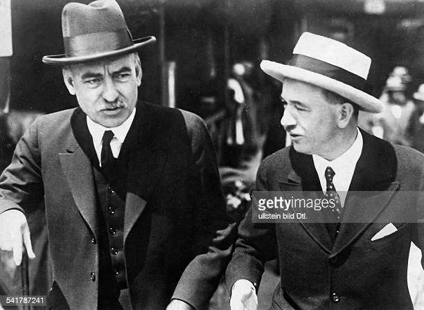 Politician Diplomat Yugoslavia*13051876 and Edvard Benes at a meeting in Strbske Pleso2707 and Minister for Foreign Affairs Photographer Vintage...