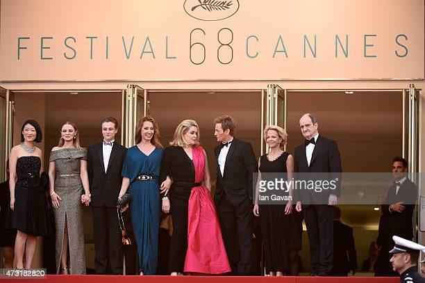 Politician Fleur Pellerin actress Sara Forestier actor Rod Paradot pand director Emmanuelle Bercot actress Catherine Deneuve' actor Benoit Magimel...