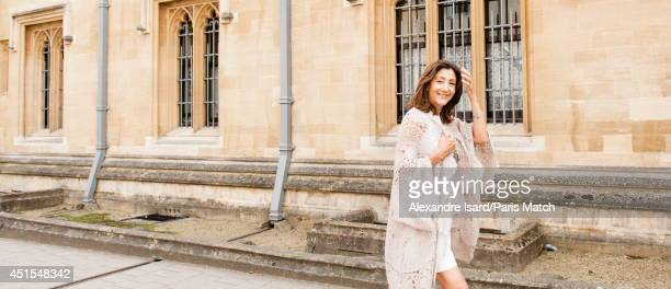 Politician, former senator and anti-corruption activist Ingrid Betancourt is photographed for Paris Match on June 13, 2014 in Oxford, England.