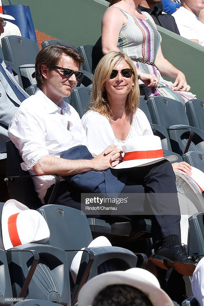 Celebrities At French Open 2014 : Day 13