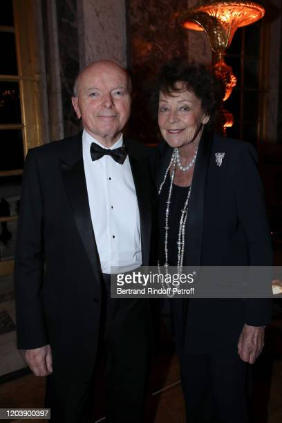 Politician Jacques Toubon and his wife Lise Toubon attend the 20th Gala Evening of the Paris Charter Against Cancer for the benefit of the...