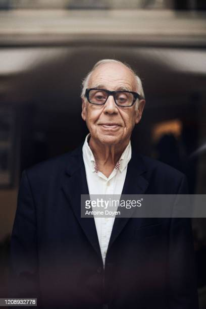 Politician Jean Ziegler poses for a portrait on March 4 2020 in Paris France