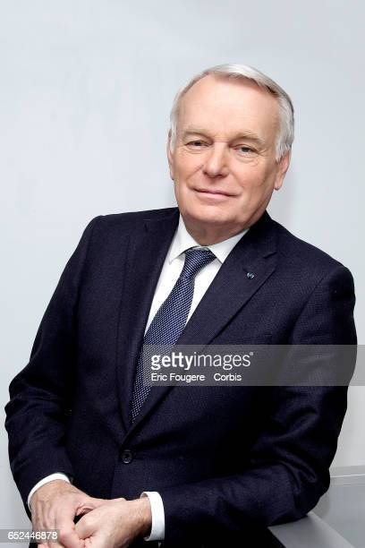 Politician Jean-Marc Ayrault poses during a portrait session in Paris, France on .