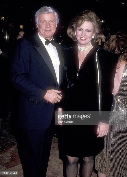 Politician John Y Brown Jr and TV personality Phyllis George attend the Party to Celebrate Donald Trump's Book Trump The Art of the Deal on December...