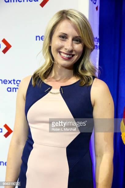 Politician Katie Hill attends the 25th Congressional District Democratic Candidate Debate Presented by NextGen America at The Canyon on May 8 2018 in...