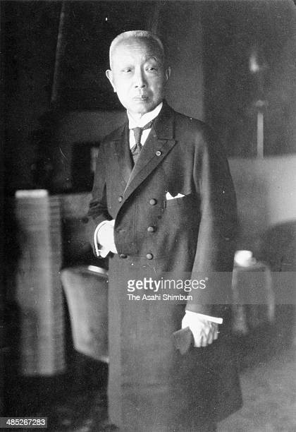 Politician Kinmochi Saionji is seen in Japan. Saionji was two times Prime Minister of Japan, 12th and 14th.