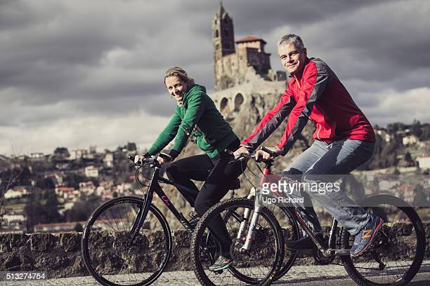 Politician Laurent Wauquiez and his wife are photographed for Gala on February 6 2016 in SaintEtienne France
