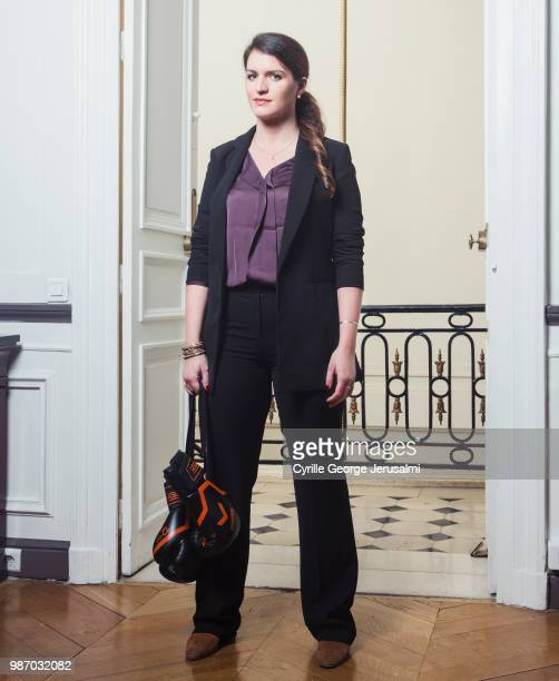 Politician Marlene Schiappa is photographed for Gala Magazine, on December, 2017 in Cannes, France. . .
