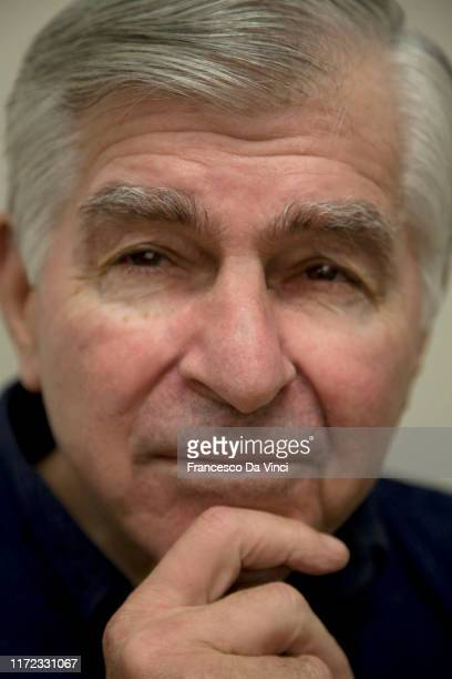 Politician Michael Dukakis poses for a portrait at UCLA circa 2016 in Los Angeles California