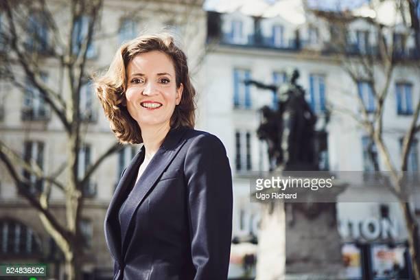Politician Nathalie Kosciusko Morizet is photographed for Gala on April 20 2016 in Paris France