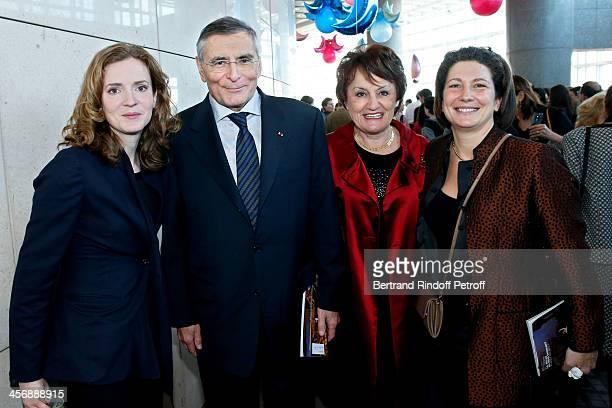Politician Nathalie KosciuskoMorizet President of Arop JeanLouis Beffa Daniele Fouach and Laure Darcos attend the 'Reves d'Enfants' Arop charity...