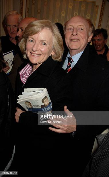 Politician Neil Kinnock and wife Glenys attend the press night of 'The God of Carnage' at the Gielgud Theatre March 25 2008 in London England