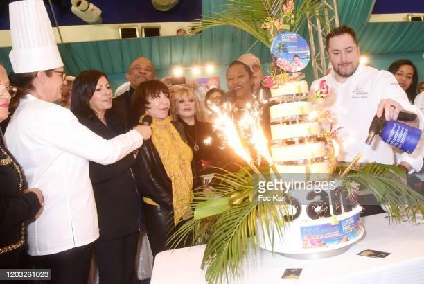 Politician Patrick Ollier, Paris Mayor Anne Hidalgo, singer Francky Vincent, Chef Babette de Rozières, Chef Eric Briffard Writer Yann Quéffelec Chef...