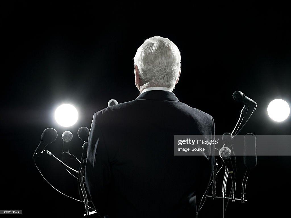 Politician : Stock Photo